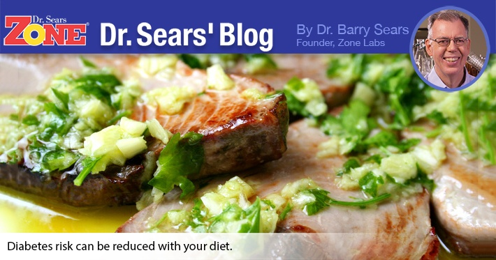Dr. Sears' Blog: Simple Dietary Changes Ease Diabetes Risk
