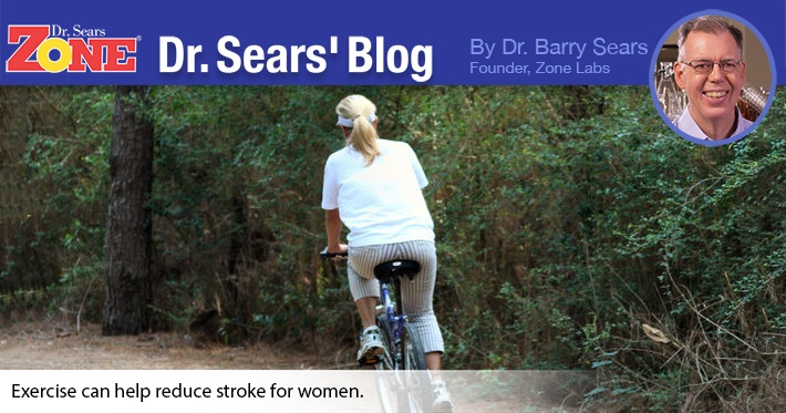 Dr. Sears' Blog: Women Can Reduce Stroke Risk With Physical Activity