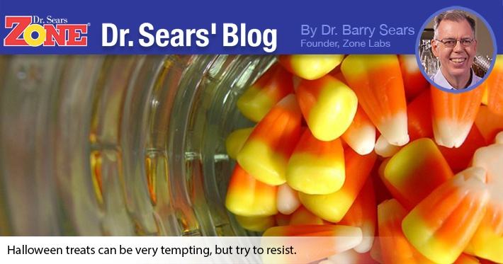 Dr. Sears' Blog: Don't Let Those Treats Play Tricks On Your Body