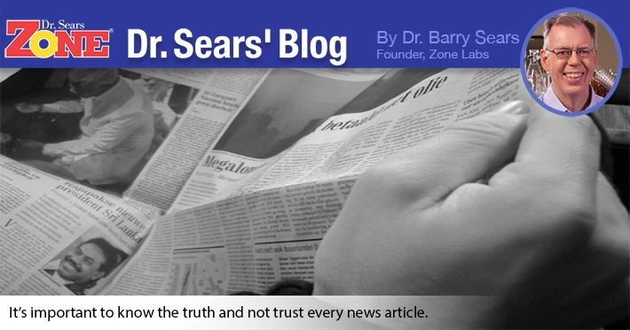 Dr. Sears' Blog: U.S. News Study Is Flawed
