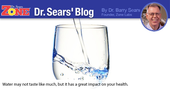 Dr. Sears' Blog: Water and Weight Loss: Is There a Connection?
