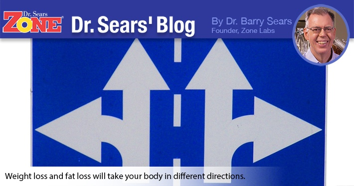 Dr. Sears' Blog: Weight Loss or Fat Loss? It Makes A Difference