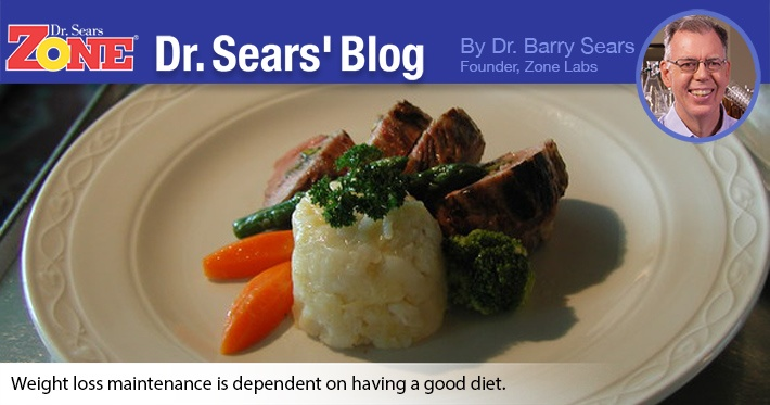 Dr. Sears' Blog: Diet Important In Weight-Loss Maintenance