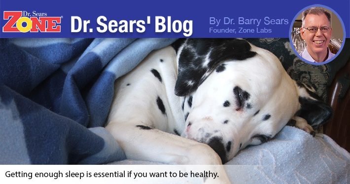 Dr. Sears' Blog: Time To Get Your Zzzzz's