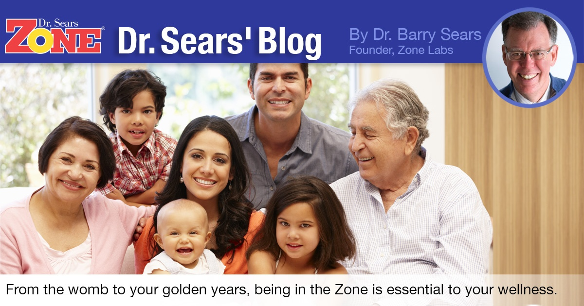 Dr. Sears Blog: Life Stages in the Zone