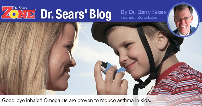 Dr. Sears' Blog: Can Childhood Asthma Be Reduced with Omega-3 Fatty Acids?