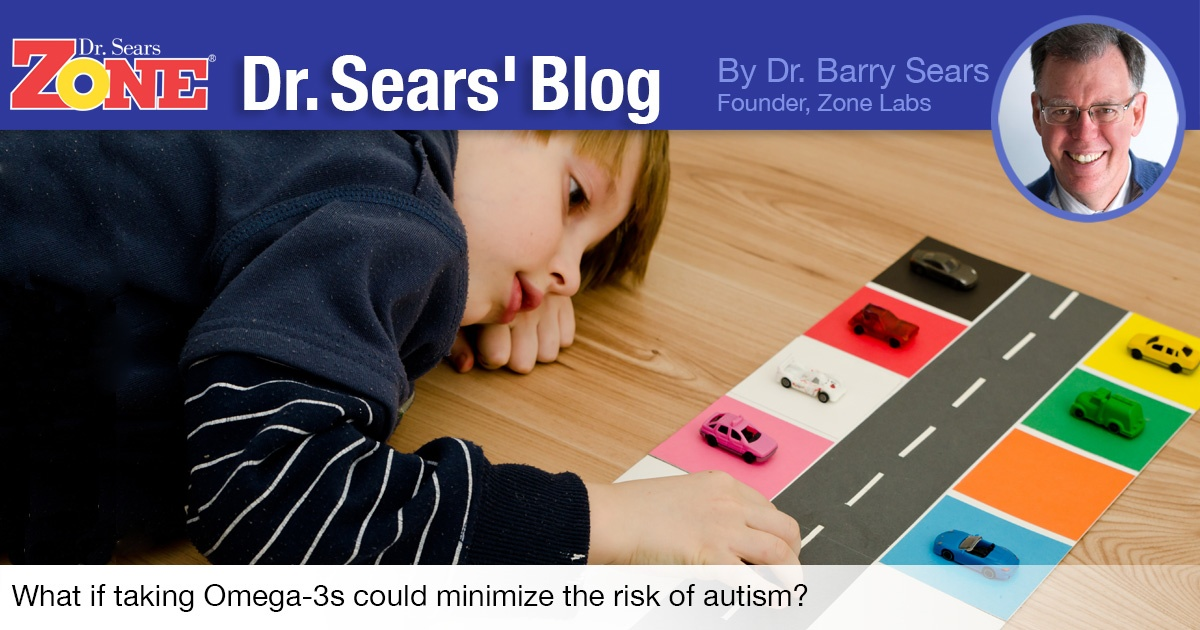 Dr. Sears Blog: Omega-3s Could Minimize the Risk of Autism