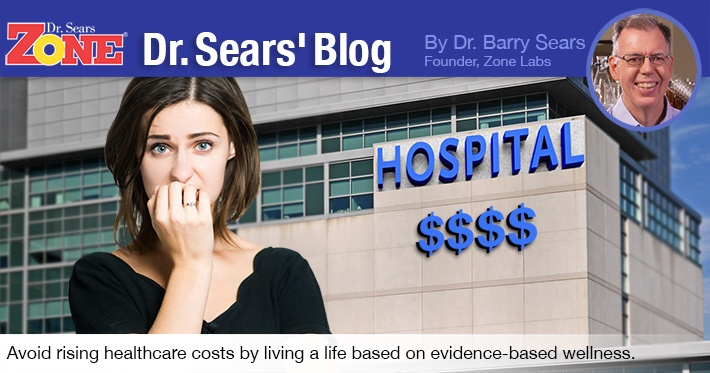 The biggest U.S. industry is treating sick people, and it's growing. Dr. Sears shares how to keep your share of expense to a minimum.