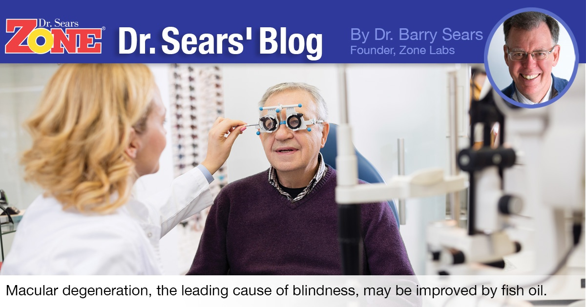 Dr. Sears Blog: Omega-3 May Improve Sight Loss