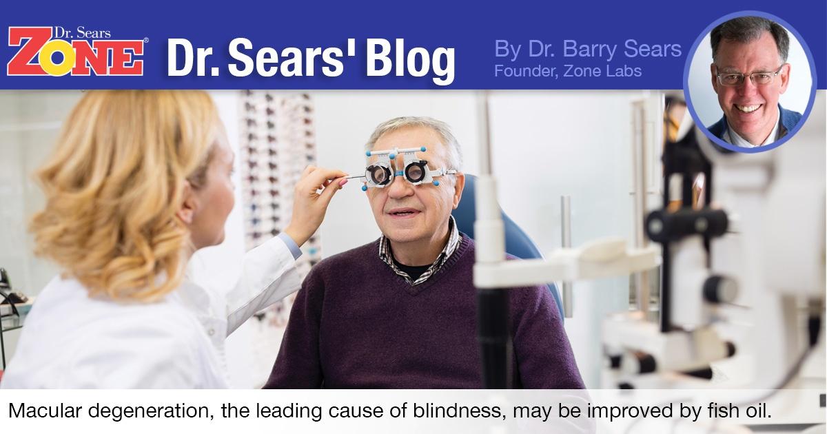 Dr. Sears Blog: Omega-3 May Improve Sight Loss