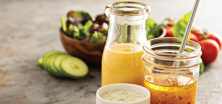 8 Healthy Salad Dressing Recipes